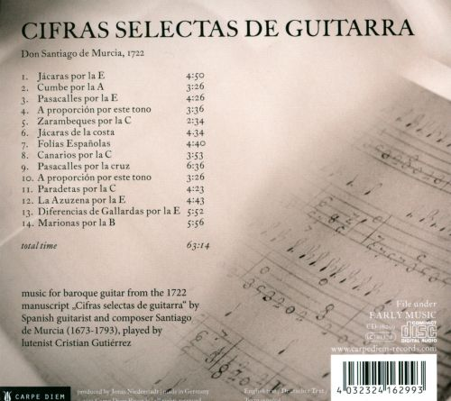 Selected Works of Murcia