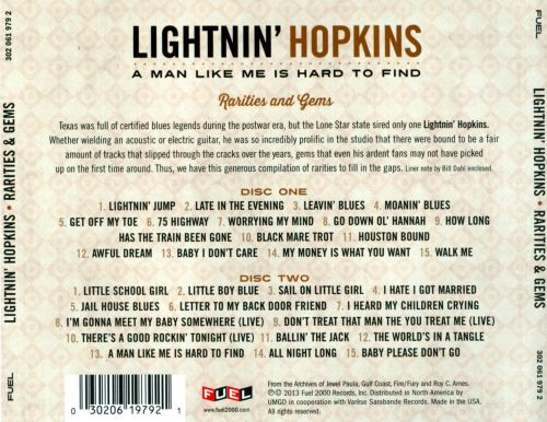 A Man Like Me Is Hard to Find: Rarities & Gems