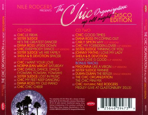 The Chic Organization: Up All Night - Disco Edition