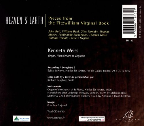 Heaven & Earth: Pieces from the Fitzwilliam Virginal Book