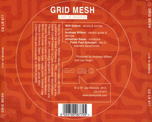 Grid Mesh: Live in Madrid
