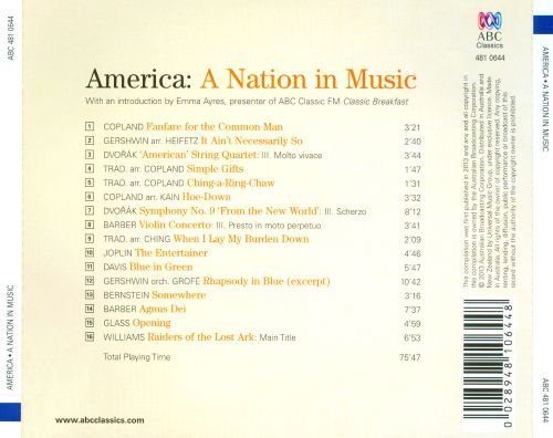 America: A Nation in Music