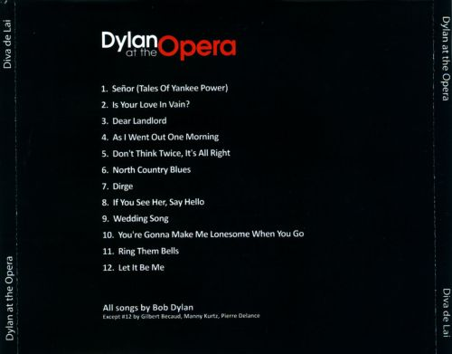 Dylan at the Opera