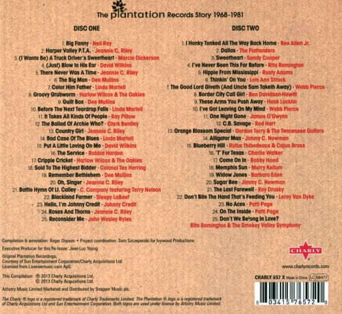 Truck Stop Sweethearts & C.B. Savages: The Plantation Records Story 1968-1981