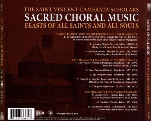Sacred Choral Music: Feast of All Saints and All Souls