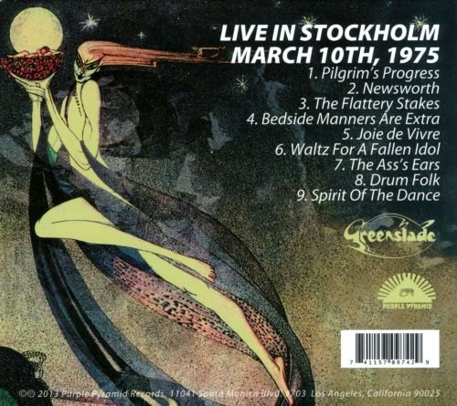 Live in Stockholm, March 10th, 1975