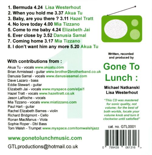 Radio Pop, Vol. 1: The First Eight Singles from Gone to Lunch