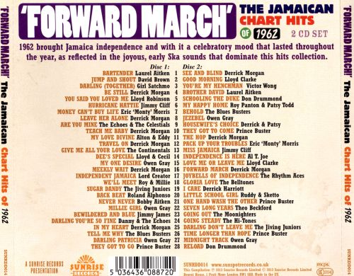 Forward March!: The Jamaican Chart Hits of 1962