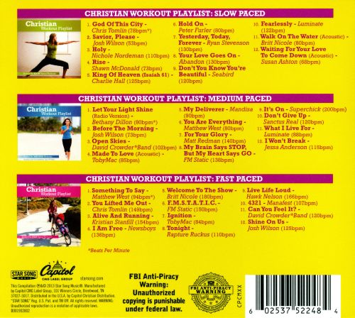 Christian Workout Power Pack: 3 CDS To Keep You Energized During Your Workouts