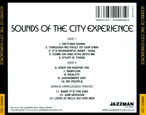 Sound of the City Experience