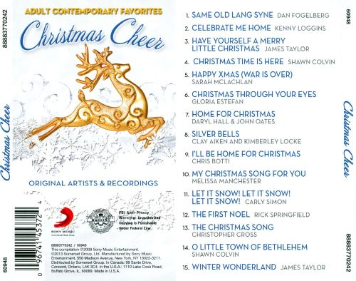 christmas cheer sony 2 - James Taylor Have Yourself A Merry Little Christmas