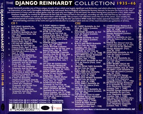 The Django Reinhardt Collection: 1935-46
