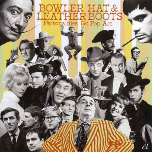 Bowler Hat & Leather Boots - Personalities Go Pop Art