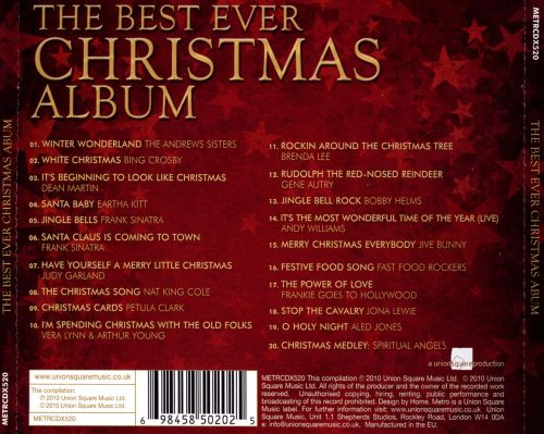 The Best Ever Christmas Album Metro - Various Artists   Songs, Reviews, Credits   AllMusic