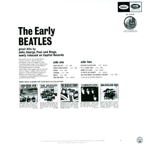 The Early Beatles