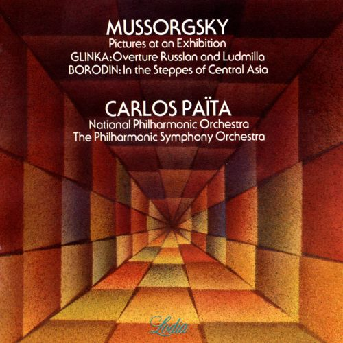 Mussorgsky: Pictures at en Exhibition; Borodin: In the Steppes of Central Asia
