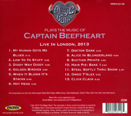Plays the Music of Captain Beefheart