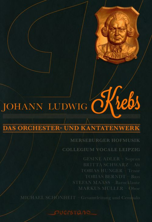 Johann Ludwig Krebs: Orchestral Works and Cantatas