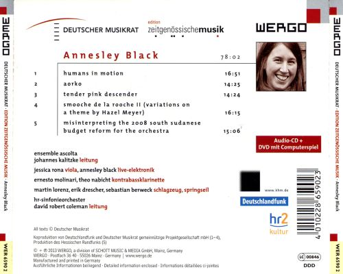 Annesley Black: No Use in a Centre