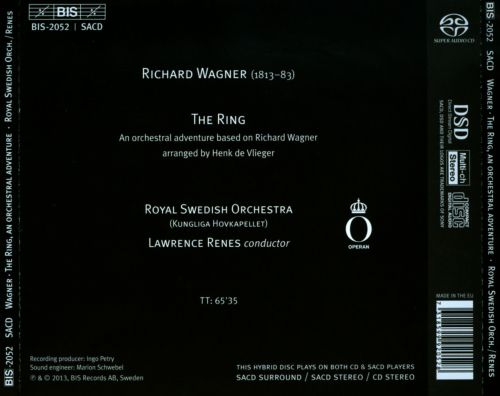 Wagner: The Ring - An Orchestral Adventure Arranged by Henk de Vlieger