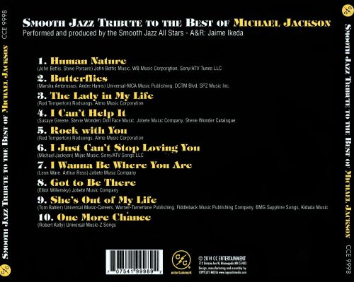 Smooth Jazz Tribute to the Best of Michael Jackson