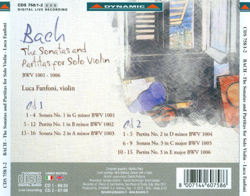 The Bach: The Sonatas and Partitas for Solo Violin