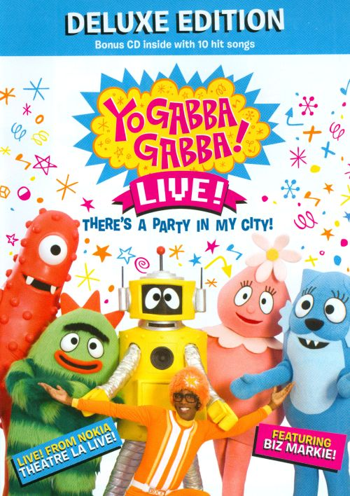 Yo Gabba Gabba! Live: There's a Party in My City!