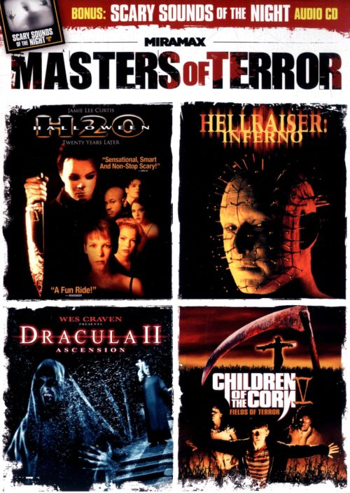 Masters of Terror: Halloween: H20/Hellraiser: Inferno/Dracula II: Ascension/Children of the Corn 5: Fields of Terror