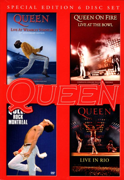 Live at Wembly/Rock Montreal/Live in Rio/On Fire: Live at the Bowl