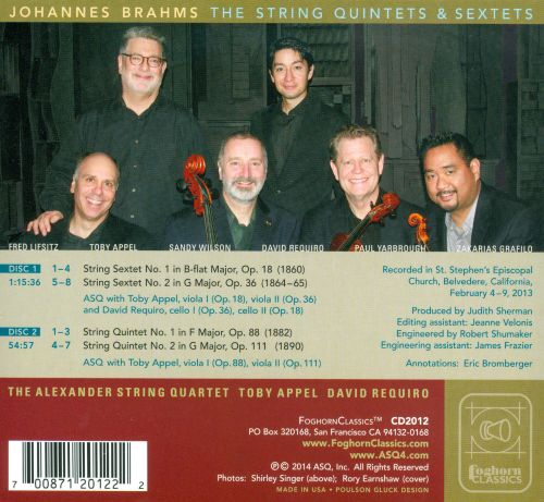 Brahms: The String Quintets & Sextets