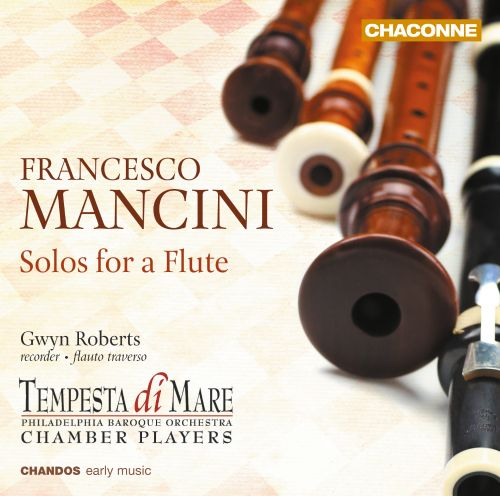 Francesco Mancini: Solos for Flute