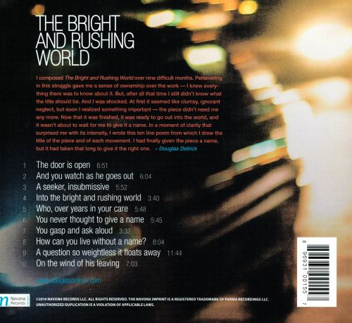 The Bright and Rushing World