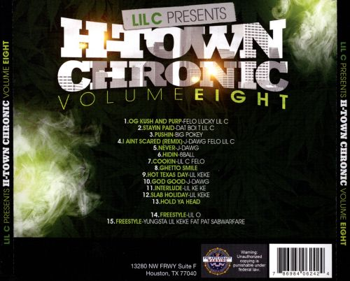 H-Town Chronic, Vol. 8