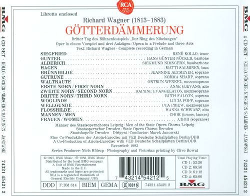 Wagner: Gotterdammerung (Complete) [Germany]