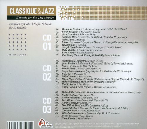 Classique & Jazz: Music for the 21st Century