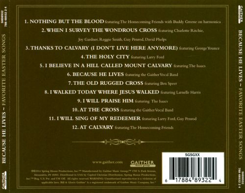 Because He Lives: Favorite Easter Songs