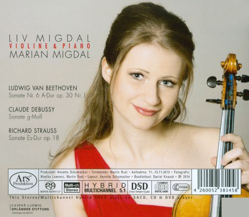 Violine & Piano: Beethoven, Debussy, Strauss