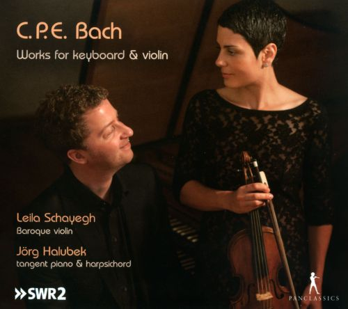 C.P.E. Bach: Works for Keyboard & Violin