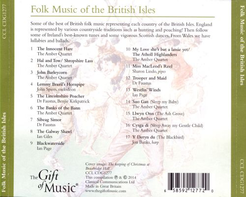 Folk Music of British Isles