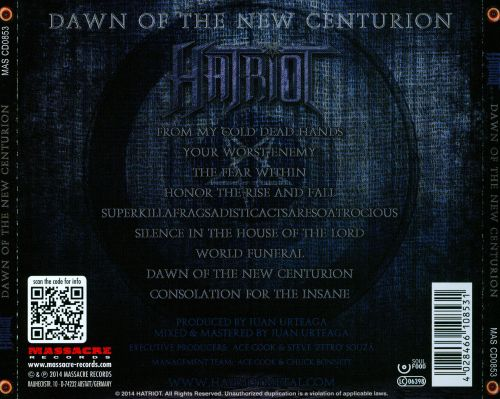 Dawn of the New Centurion