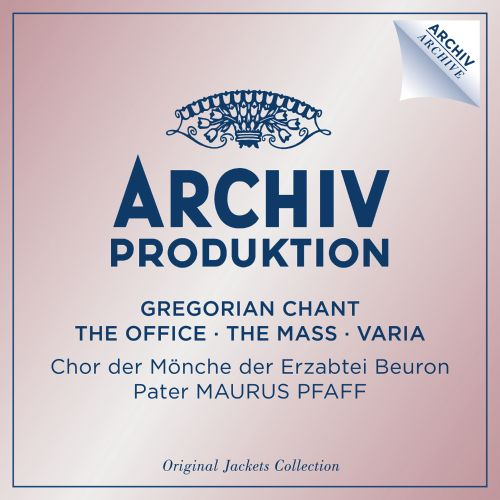 Gregorian Chant: The Office, The Mass, Varia