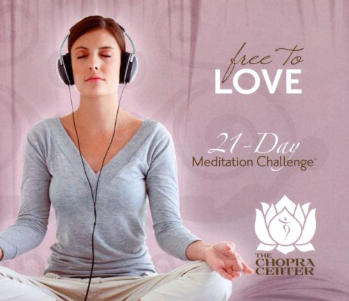 21-Day Meditation Challenge: Free To Love
