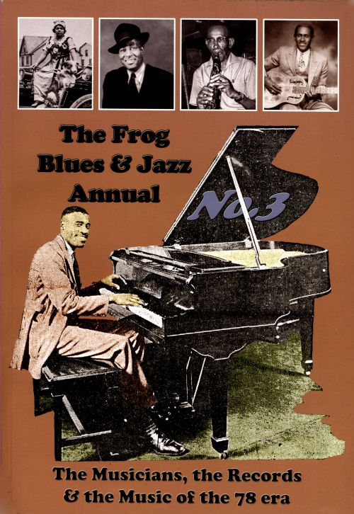 The  Frog Blues and Jazz Annual, No. 3