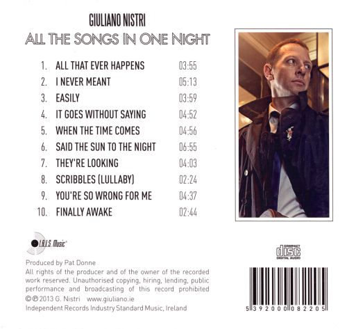 All the Songs In One Night