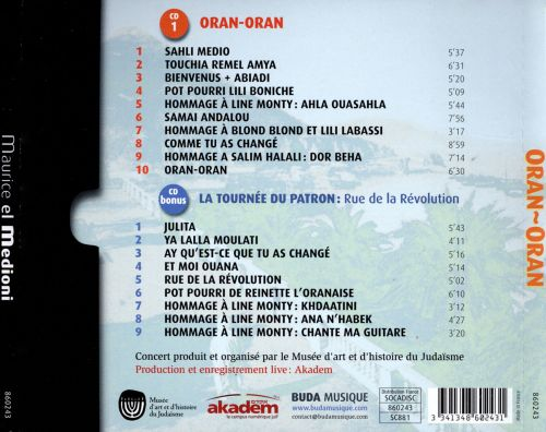 Oran-Oran: Live in Paris