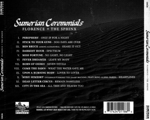 Sumerian Ceremonials: Florence + The Sphinx – A Tribute to Florence + The Machine