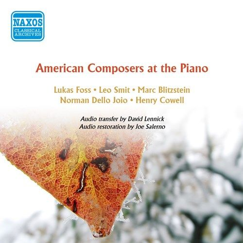 American Composers at the Piano