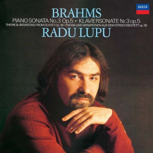 Brahms: Piano Sonata No. 3; Theme & Varations from Sextet Op. 13