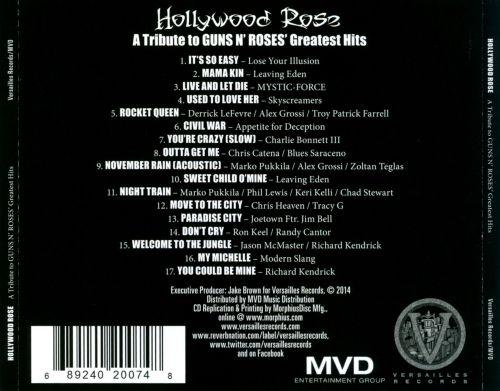 Hollywood Rose: A Tribute To Guns N' Roses' Greatest Hits