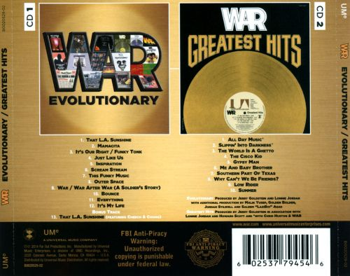 Image result for WAR  GROUP DISCOGRAPHY